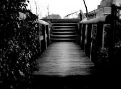 Fonds d'écran Constructions et architecture Les entrailles de Caen : Au bout de la passerelle