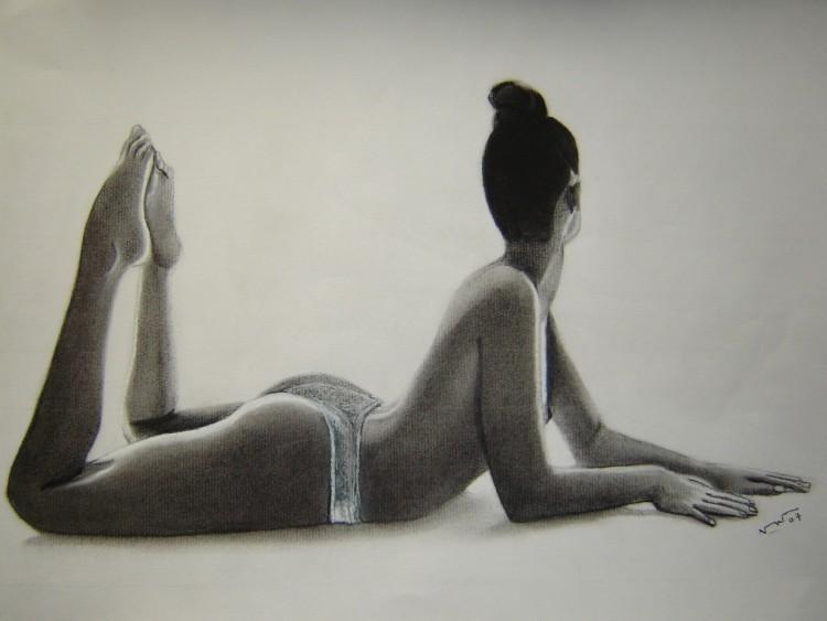 Fonds d'écran Art - Peinture Femmes - Féminité Aubade2