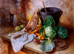 Wallpapers Art - Painting La soupe au choux