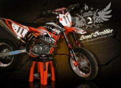 Wallpapers Motorbikes The KTM 450 SM by Lionel Deridder # 11. European Championship 2007.