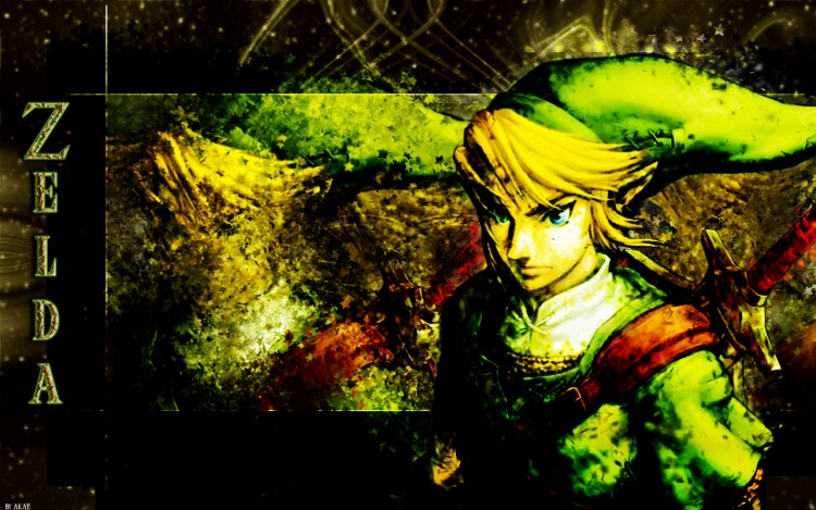 Wallpapers Video Games Zelda Zelda grunge SMudge