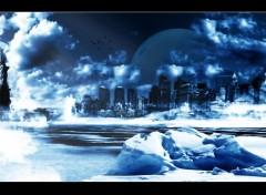 Fonds d'écran Art - Numérique Cold NY