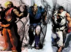 Wallpapers Video Games abel ken et ryu