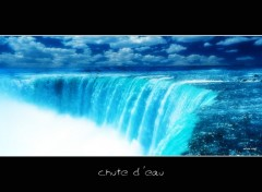 Wallpapers Nature chute d'eau