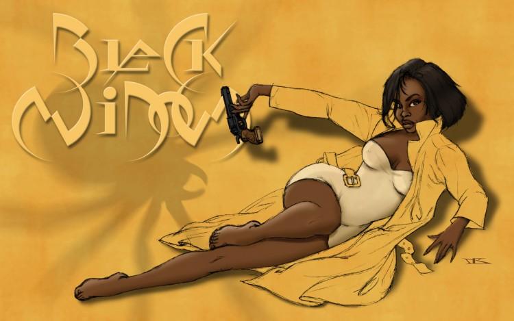 Fonds d'écran Art - Peinture Personnages Black Widow