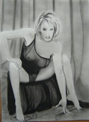Wallpapers Art - Pencil Women - Femininity Jenny