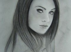 Fonds d'écran Art - Crayon Megan Fox 1