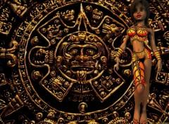 Fonds d'écran Art - Numérique Maya girl