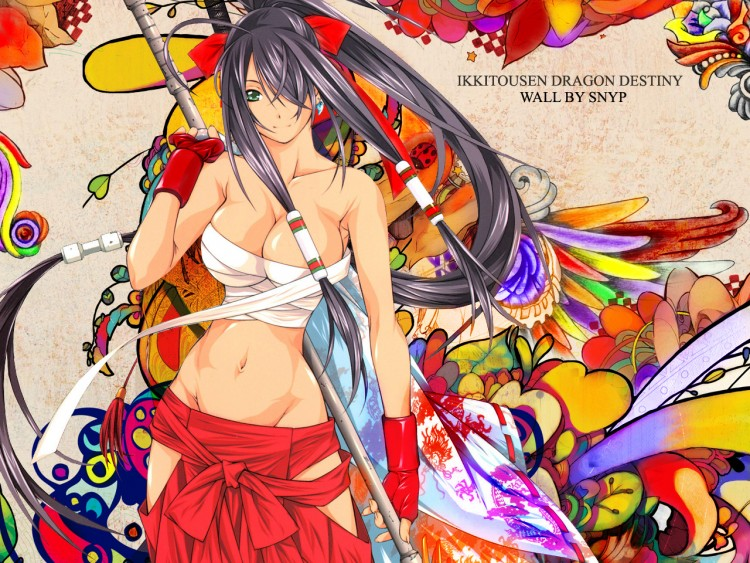 Wallpapers Manga Ikkitousen Dragon Destiny Dragon Fighter Spirit