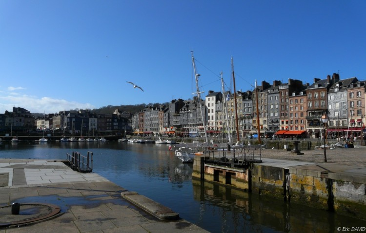 Wallpapers Constructions and architecture Harbours - Docks Honfleur