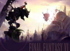 Wallpapers Video Games final fantasy VI de Yoshitaka Amano
