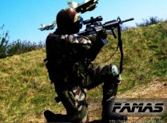 Fonds d'écran Sports - Loisirs FAMAS AIRSOFT TEAM - nightcyborg