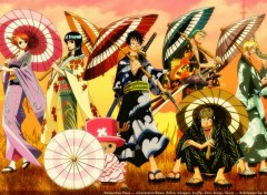 Fonds d'écran Manga yukata