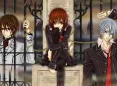 Fonds d'écran Manga kaname yuki et zero