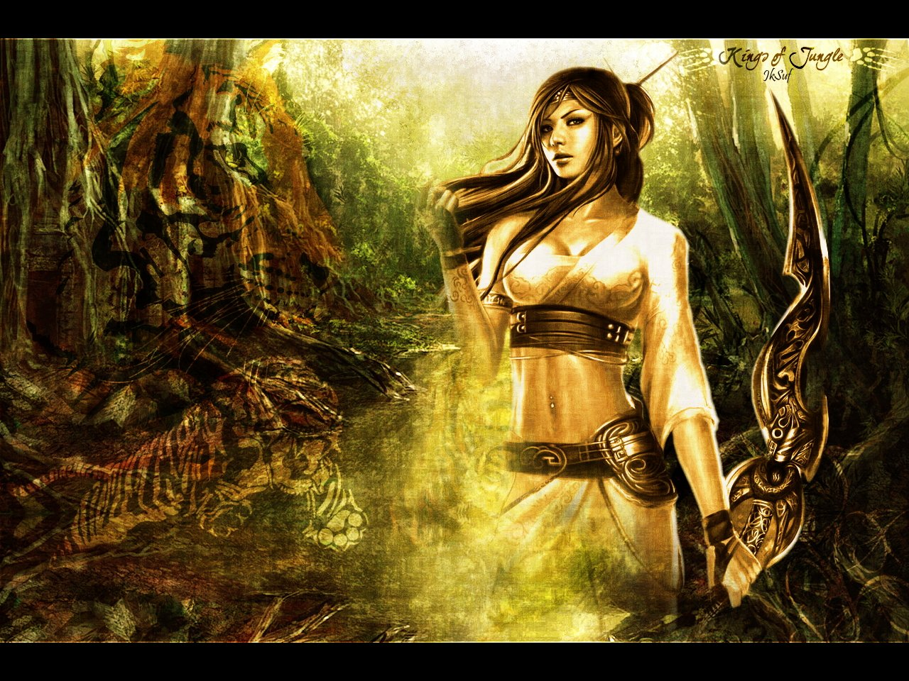 Wallpapers Fantasy and Science Fiction Gods - Goddesses Kings Of Jungle