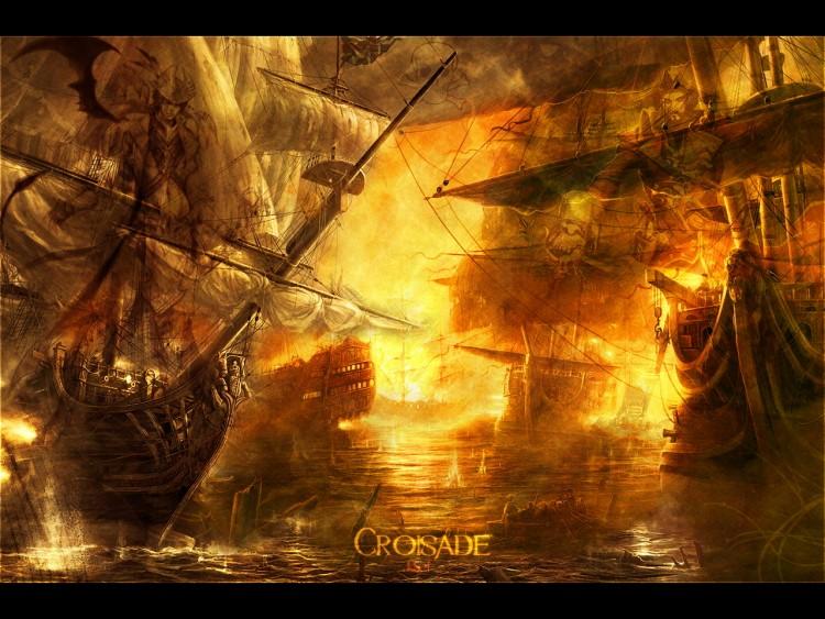 Fonds d'écran Art - Numérique Fantastique Croisade