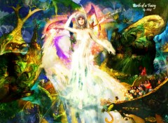 Wallpapers Fantasy and Science Fiction Birth Of Fairy