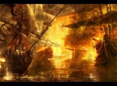 Fonds d'écran Art - Numérique Croisade