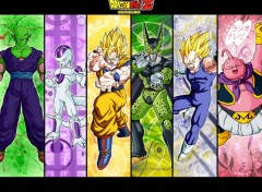 Fonds d'écran Manga Heroes Of DBZ