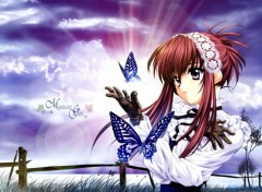Fonds d'écran Manga Mystique girl