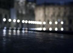 Fonds d'écran Voyages : Europe Le Louvre flou