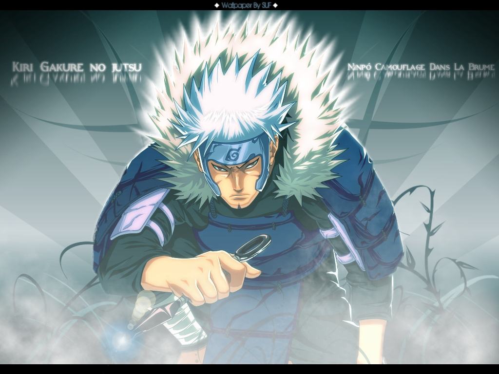Wallpapers Manga Naruto Nidaime Hokage