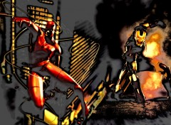 Wallpapers Comics Daredevil & Iron Man