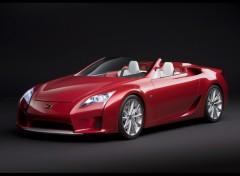 Fonds d'écran Voitures Lexus-LF-A-Roadster