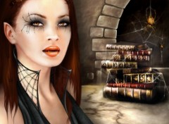 Fonds d'écran Art - Numérique Spider Queen