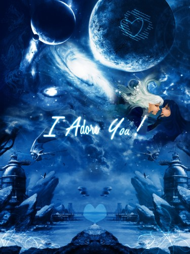 Wallpapers Digital Art Posters I love you !