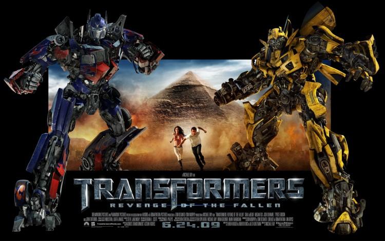 Wallpapers Movies Transformers - Revenge Of The Fallen Affiche carton de Transformers 2