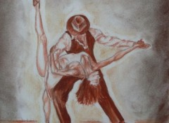 Fonds d'écran Art - Crayon tango