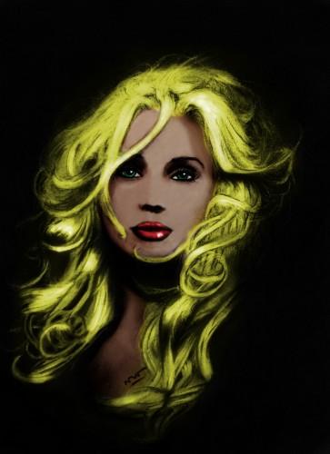 Wallpapers Digital Art Portraits Boucles couleurs