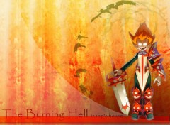 Wallpapers Video Games burning hell