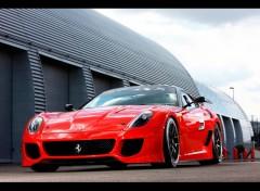 Fonds d'écran Voitures Ferrari-599