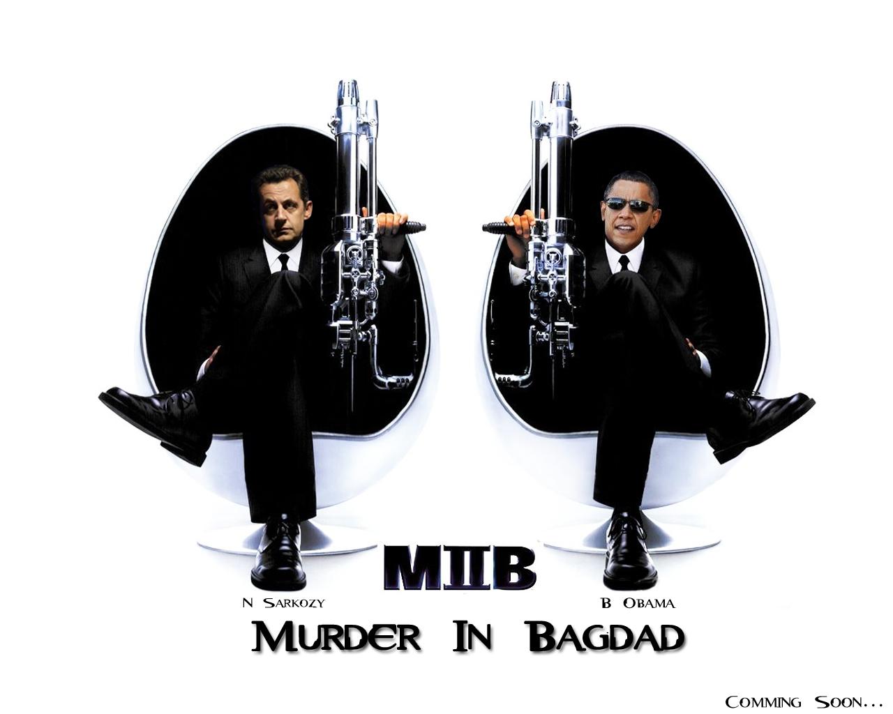 Fonds d'écran Humour Politique MIB