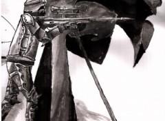 Wallpapers Art - Painting sniper médiévaux