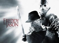 Wallpapers Movies freddy vs jason