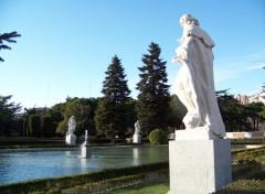 Fonds d'écran Nature Jardins de Sabatini. Madrid.