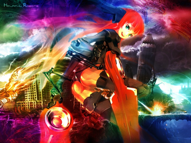Wallpapers Fantasy and Science Fiction Miscellaneous Characters Helpful Robots