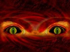 Wallpapers Fantasy and Science Fiction Eyes of Evil