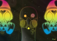 Wallpapers Digital Art space respirator