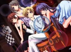 Fonds d'écran Manga Clannad club :P