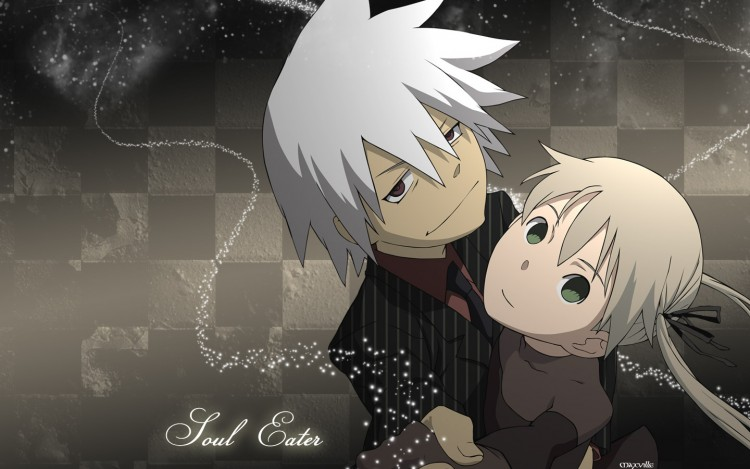 Fonds d'écran Manga Soul Eater soul x maka