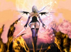 Wallpapers Fantasy and Science Fiction Evil Girl