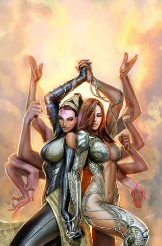 Fonds d'écran Art - Crayon BDs - Witchblade witchblade