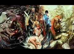 Fonds d'écran Comics et BDs witchblade