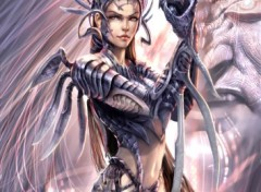 Fonds d'écran Art - Crayon witchblade
