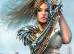 Wallpapers Art - Pencil witchblade