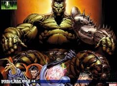 Fonds d'écran Comics et BDs world war hulk